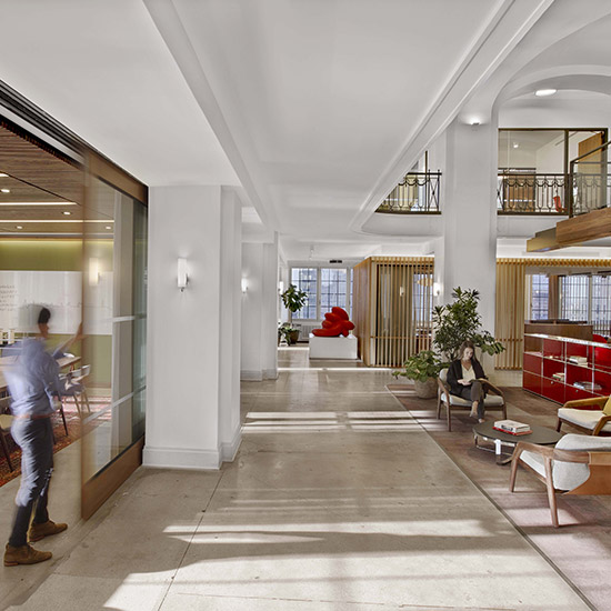 Workplace Architecture Interiors Renovation Historic Building