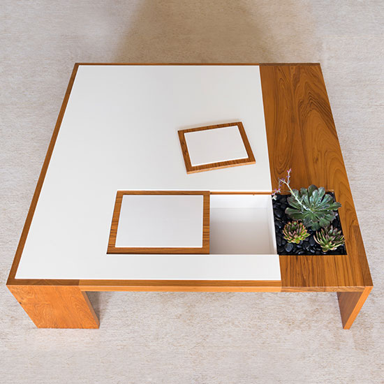 OTTO Furnishings by Andrew Franz - Box Table Series: Hugo Coffee Table Custom