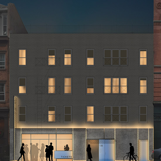 AFA worked with a downtown theater group on a feasibility study for the expansion of their existing space creating a plan that doubles the existing footprint.