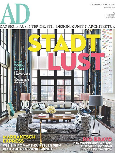 AD Germany features Tribeca Loft
