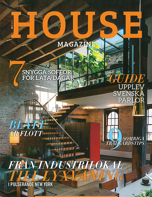 House magazine features AFA as cover story