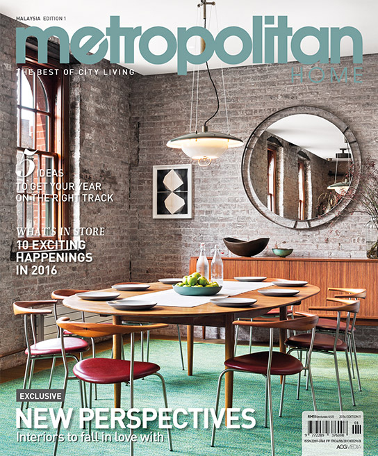 Metropolitan features Tribeca Loft as cover story