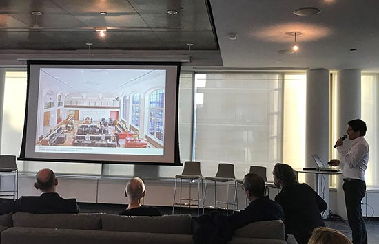 Andrew Franz presents the Hill Office for AIA NY Chapter