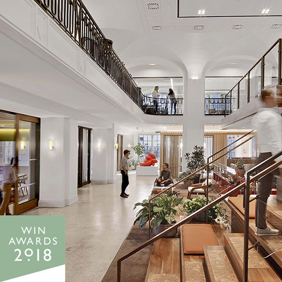 Hill Office shortlisted for World Interior News Awards