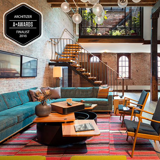 Tribeca Loft is an Architizer A+ Awards finalist