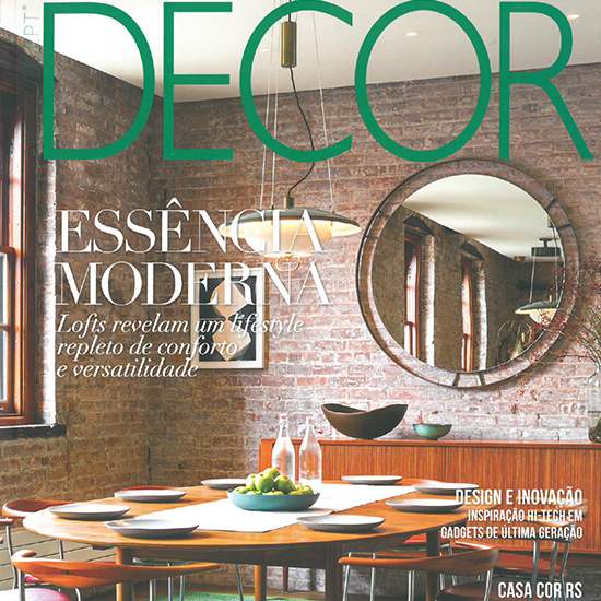 Revista Decor features Tribeca Loft as cover story