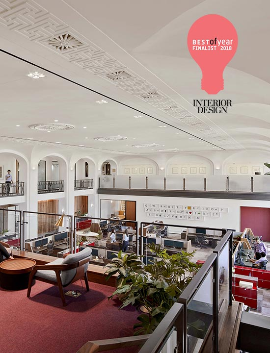 Hill Office recognized as an Interior Design BoY Awards Finalist