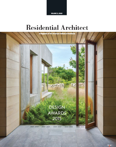 "Residential Architect - ""2015 Residential Architect Design Awards"""
